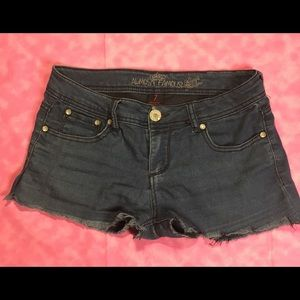 Almost Famous Jean Shorts! Size 7